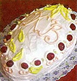 Торт «Пасхальное яйцо»