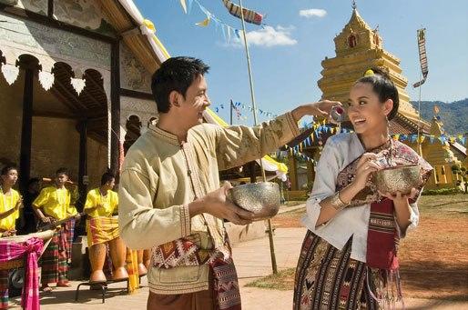 Тайский Новый год - Сонгкран