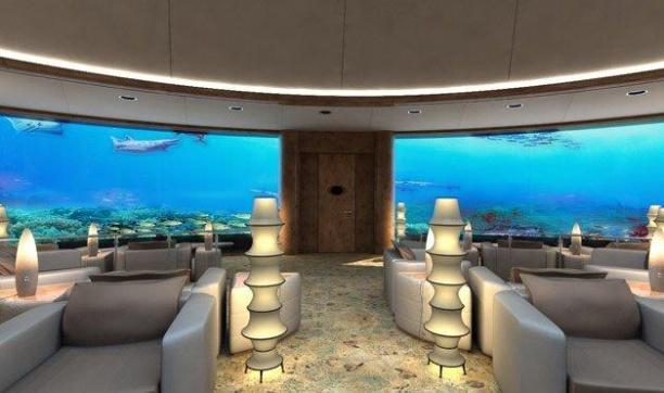 Подводный отель в Дубаи - Hydropolis Undersea Resort