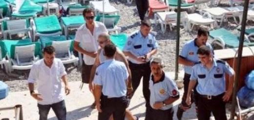 Взрыв на пляже в Кемере 28.08.2011