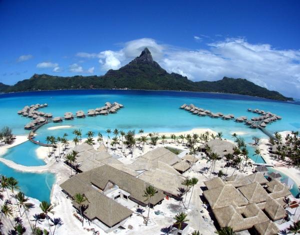 Остров Бора-Бора - рай, который можно потрогать