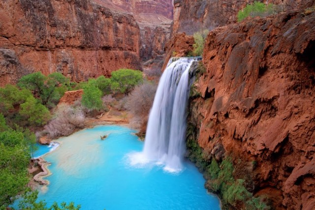 Havasu Falls, Supai, Аризона, США