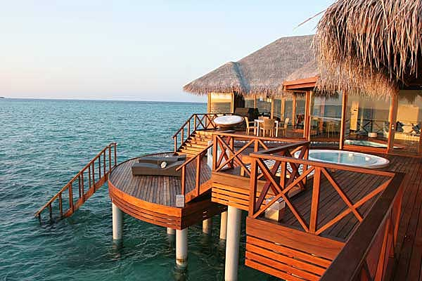 Самый роскошный отель на Мальдивах - Huvafen Fushi