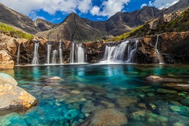 Fairy Pools, Шотландия