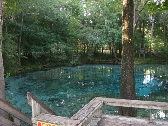 Ginnie Springs, Florida, США