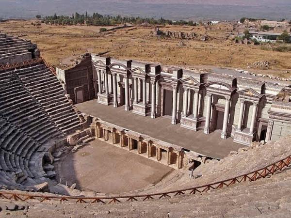 Памуккале Проект реконструкции театра Иераполис