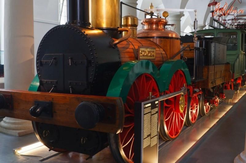Музей транспорта в Дрездене