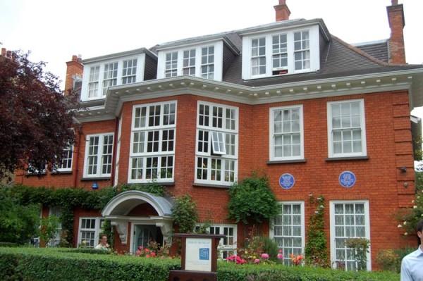 Дом-музей Фрейда в Лондоне