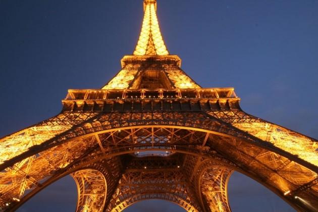 Новый год - на Эйфелевой башне!