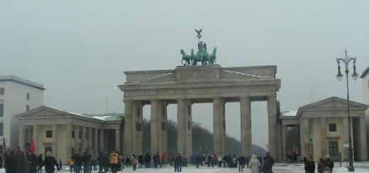 Зимний Берлин глазами русского туриста