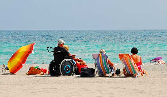 Удобства для инвалидов на Гран-Канариа (Испания)
