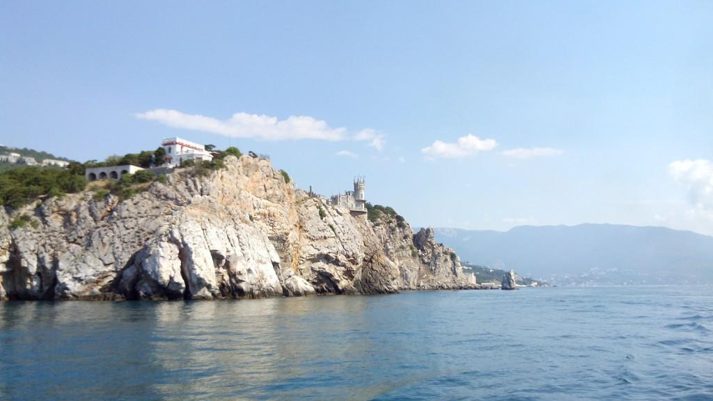 Путешествие в Крым. Ласточкино гнездо