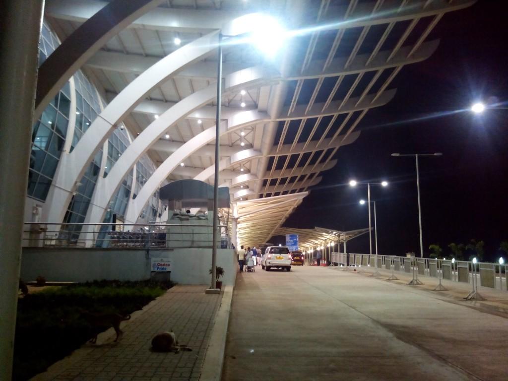 Путешествие в Южный Гоа. Аэропорт Даболим