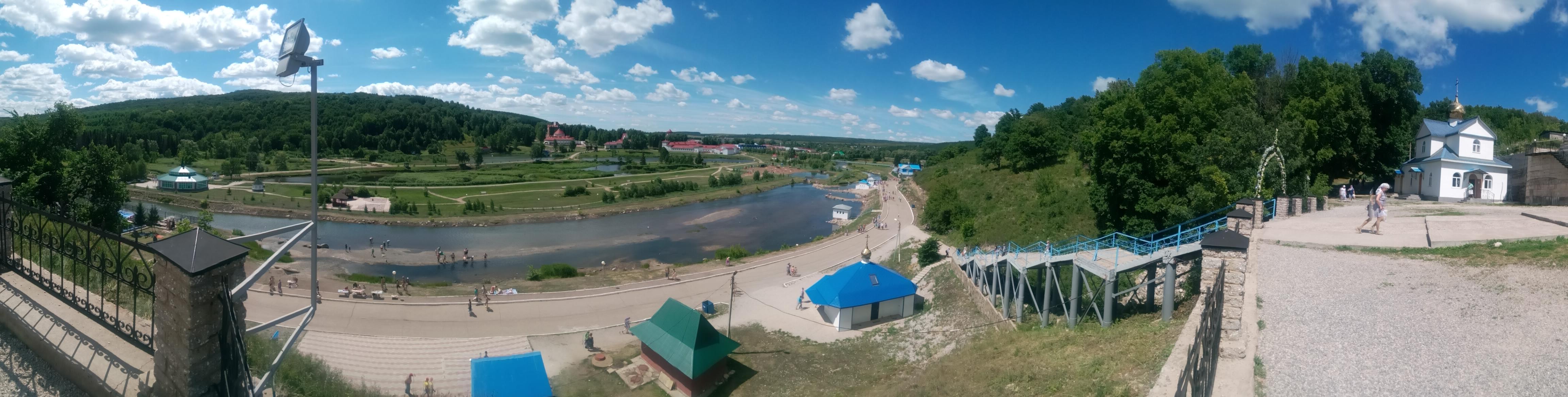 Панорама Красноусольский санаторий